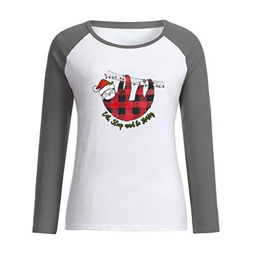 K-Youth Camiseta Mujer Navidad 2019 Oferta Ropa para Mujeres