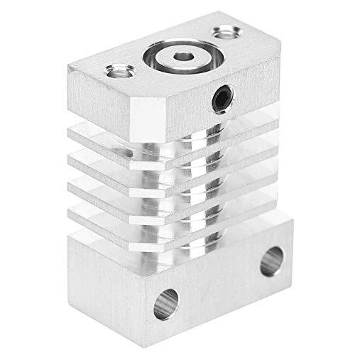 Hotend Kit Parti di aggiornamento del blocco del dissipatore di calore hot-end in lega di alluminio Accessori per stampante 3D per dissipatore di calore per estrusore CR-10