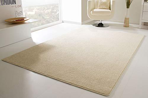 Cambridge designer rug, modern, in charcoal, size:80 cmx 150cm., Polypropylene, beige, 200 x 300 cm