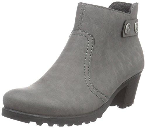 Rieker Damen Y8062 Kurzschaft Stiefel, Grau (dust / 42), 38 EU