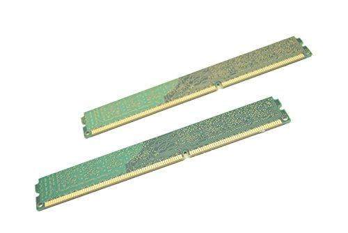 Kingston ValueRAM 8GB Kit (2x4GB) 1600MHz DDR3 Non - ECC CL11 DIMM SR x8 Desktop Memory KVR16N11S8K2/8