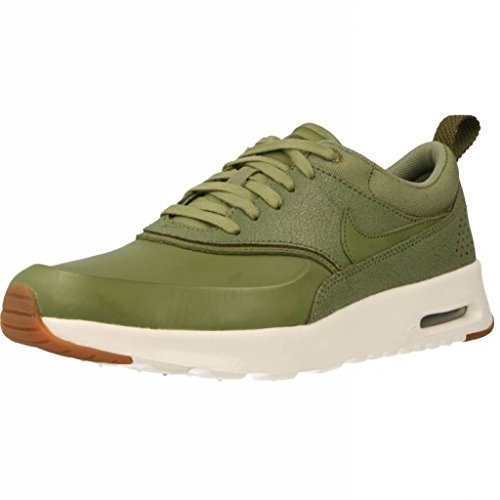 Nike Womens air max THEA PRM Running Trainers 616723 Sneakers Shoes (US 7, Palm Green sail 305)
