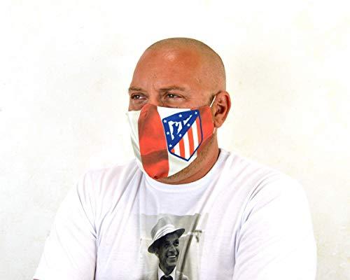 Mascarilla lavable,Mascarillas reutilizables personalizadas con tu logo, máscaras de tela lavable con bolsillo para filtro, personaliza mascara con tu nombre