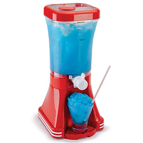 Maschine Slushie Maker – verbesserte Rezepte garantiert funktionieren – ideal für Kinder oder Erwachsene mit Slushy Sirups, Frucht-Smoothies und Cocktails