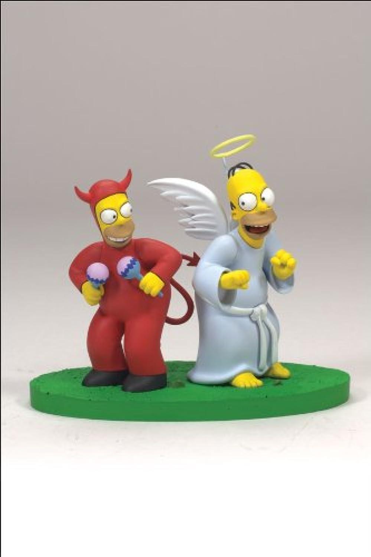 ahorre 60% de descuento McFarlane  Simpsons Serie 2 2 2 Buen Mal Homer  auténtico