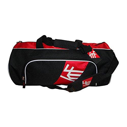 KRF Feel The Enemy 0016082Tasche für Fitness und Krafttraining, Unisex Erwachsene, schwarz, Einheitsgröße