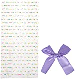 Amscan Baby Shower Cello Treat Bags, Neutral
