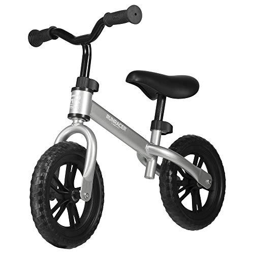 STIGA Runracer C10 Balance Bike, Silver
