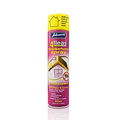 Johnsons 4fleas para hogar en Spray 600ml