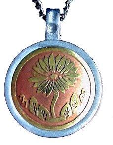 Silver Insanity CHU Hua Easy Life Talisman Amulet Pendant Necklace