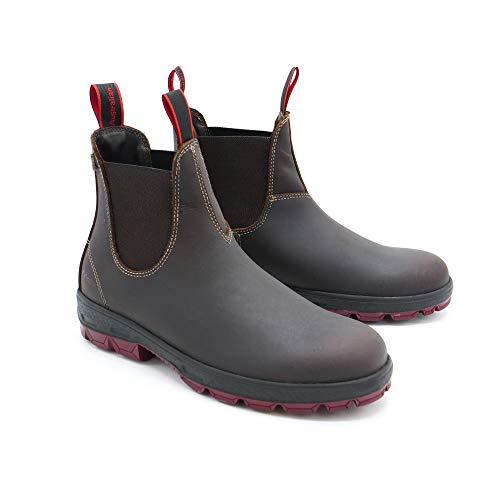 Australian Hobo ENred Boots Stiefel Leder wasserabweisend - Brown (40)