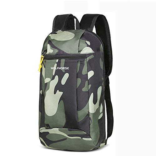 Pomety Backpack Travel Hiking Backpack Daypack Ultralight Outdoor Sport Upgraded Business Travel Anti-Theft Work Travel Laptop Backpack Water Resistant School Bag for Boys (Color : Camouflage)
