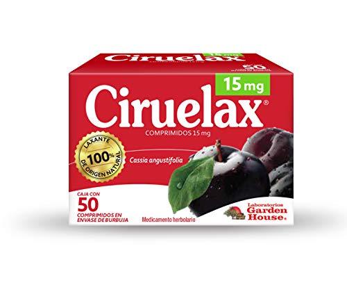 Ciruelax Laxante De Origen Natural Con 50 Comprimidos