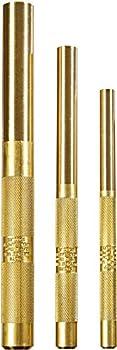 Mayhew Pro 61360 3 Pc Brass Drift Punch Set