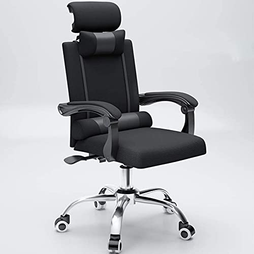 Cadeira Cadeira para computador doméstico, cadeira de chefe, cadeira para sala de conferências de escritório, cadeira de Mahjong com elevador de encosto, poltrona reclinável para lazer, conf