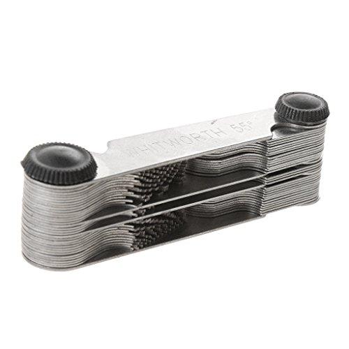 Jauge de Filetage métrique 55 Whitworth & 60 Métriques & US Thread Outil de Mesure multifonction de Générique