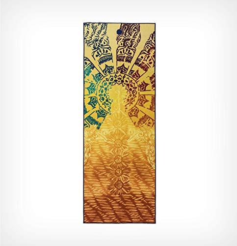 Manduka Yogitoes 2.0 Yoga Mat Towel - Chakra - 68' Length