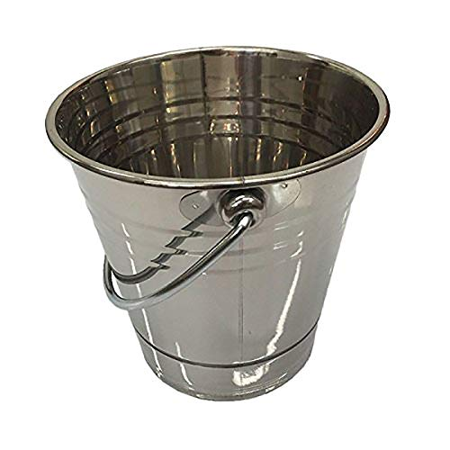 Green Mountain Grills Stainless Steel Metal Daniel Boone/Jim Bowie Choice and Prime Grill Grease Drip Bucket Pail