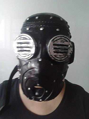 WRESTLING MASKS UK Sid Wilson de Luxe Fibre de Verre - Masque