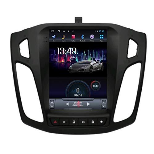 Android 10.0 8 Core Car stereo radio de navegación por satélite FM AM Autoradio 2.5D Pantalla táctil para Ford FOCUS 2012-2018 Navegador GPS Bluetooth WIFI GPS USB SD player(Color:4G+WIFI 2G+32G)