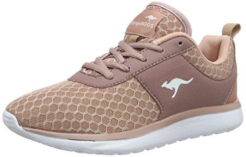 KangaROOS Bumpy Sneakers Damen, Pink(Rose 640), 42 EU