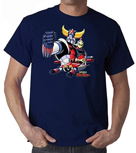 GREAT Men's Goldrake UFO Robot T Shirt Uomo Bimbo Cartoon Anni 80 Anime