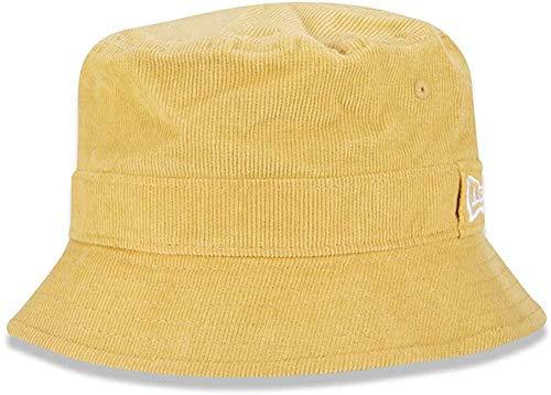 New Era WMNS Pastel Cord Bucket Ne SFY Kappe, Pastell Gelb, L