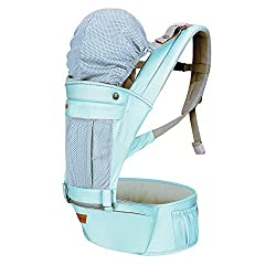 1st Step 5 in 1 Hip seat Baby Carrier (Blue),1st Step