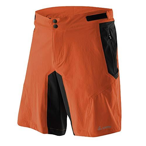 LÖFFLER Tourano Bike Shorts - Safran