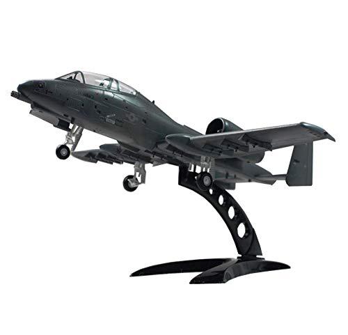 X-Toy 1/72 Escala Modelo De Los Aviones, Militaryiran A-10 Ataque Modelo De Avión, Juguetes Y Regalos para Niños, 8.9Inch X9.5Inch