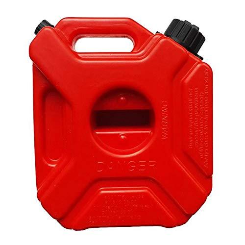 KiGoing Bidon Essence Jerrican Essence,5 L Portable Bidons Dessence Tambour /À Huile De Voiture Anti-Statique en Plastique Baril Dessence pour Voiture Moto Baril De P/étrole Seau De Carburant