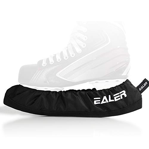 EALER BDT100 Ice Skate Blade Covers,Guards for Hockey Skates,Figure Skates and Ice Skates,Skating Soakers Cover Blades for Kids Youth and Adult - Men Women Boys Girls(Large)