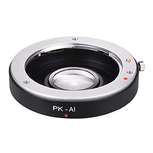 Docooler pk-ai Lens anello adattatore di montaggio con vetro ottico per Pentax K Mount Lens to fit per Nikon F ai Mount camera corpo messa a fuoco infinito
