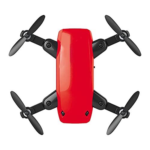 Drone RC con videocamera 4K HD, quadricottero pieghevole con funzione di regolazione della velocità, passaggio automatico, atterraggio/ritorno con un clic, sensore di gravità, 360 gradi;Ribaltamento