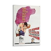 映画ポスターハスラー1キャンバスアートポスターとウォールアート写真プリントモダンファミリーベッドルームオフィス装飾ポスター16×24インチ(40×60cm)