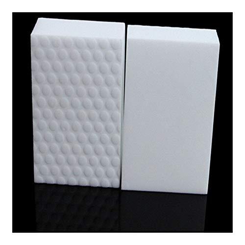 Esponjas mágicas 10 PC 10 * 6 * 2 cm de alta densidad doble comprimido esponja de cocina almohadilla borrador mágico de melamina for el proveedor de limpieza plato de lavado / coche Para marcas y quit