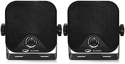 $34 » Sponsored Ad - GUZARE 4 Inches Boat Marine Speakers - Waterproof Hunging Box Speakers 100 Watts Heavy Duty Surface Mount S...