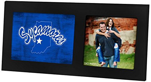 Indiana State Sycamores NCAA Framed 8x10 Photograph Indiana State University Team Logo