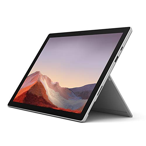 Microsoft Surface Pro 7, 12,3 Zoll 2-in-1 Tablet (Intel Core i7, 16GB RAM, 256GB SSD, Win 10 Home) Platin Grau