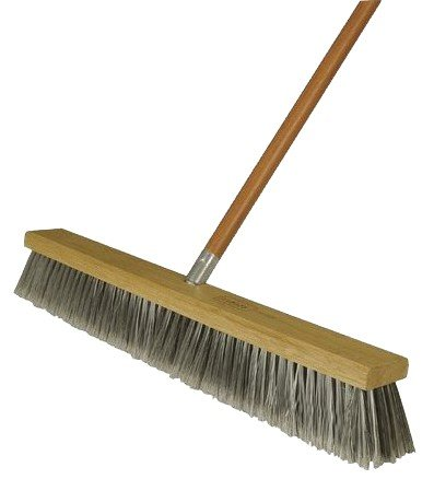 Harper Brush 582218SC 18-Inch Fine Push Broom (SOLD AS BROOM HEAD ONLY. HANDLE SOLD SEPARATELY.)