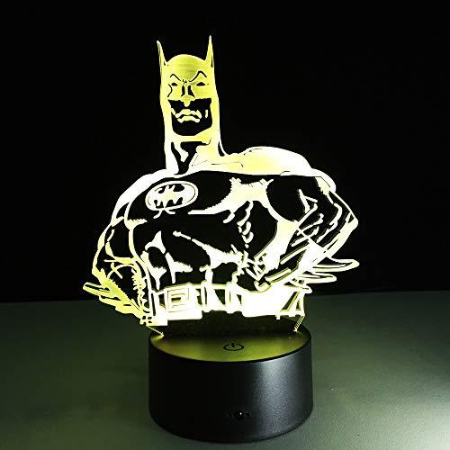 Batman Lamp Fashion Modern Art High Grade 3D Night Lamp For Home Bedroom Living Room Decoration Table Desk Light