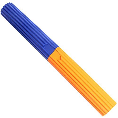 SAHFV Equipo de Entrenamiento de Resistencia Masaje y recuperación de la lesión de Fitness Flexible Codo Bar Bar de la Mano del antebrazo del fortalecedor de Gimnasio en casa (Color : Orange Blue)