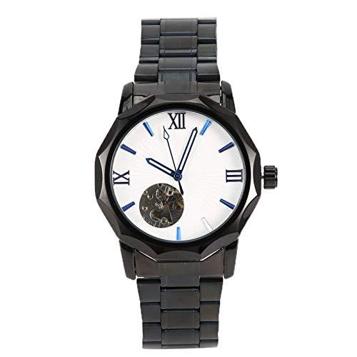 DAUERHAFT Reloj de Pulsera mecánico automático para Hombre, Acero Inoxidable, Encantador para Negocios, hogar, reuniones, Confianza, Gran decoración