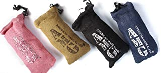 AMERICAN MADE GLASS AMG PIPE CASE POUCH ASSORTED COLORS 7
