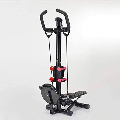 YANGSANJIN Stepper mit Armlehne, Fußstepper mit Zugseil zum Abnehmen der Taille, Hantel, Beine, Fitness-Trainingsgerät, stoßdämpfend (Sport)