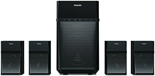 Philips SPA8180B 4.1 Channel Multimedia Speakers (Black)