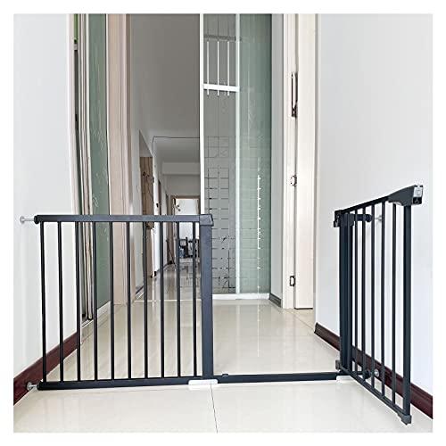 Puerta para perros Con cierre de presin Barrera escalera bebe Para escalerasBarrera de Seguridad Vallas de Seguridad 24-26.7in