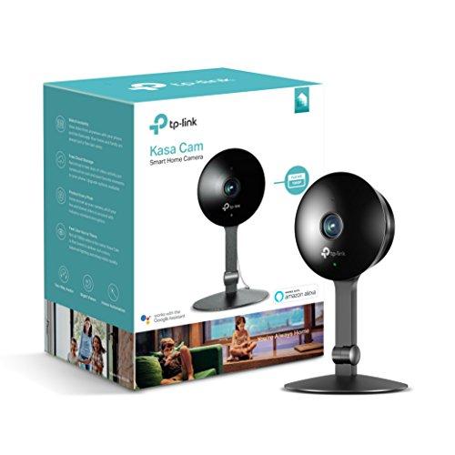 TP-Link Telecamera di Sorveglianza WiFi KC120 (1080P, Visione Notturna, Zoom Manuale, Intercettazione...