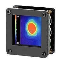KKmoon Cámara termográfica infrarroja AMG8833 IR 8 * 8 Sensor de temperatura de matriz de cámara termográfica infrarroja 7M Distancia de detección más remota con carcasa