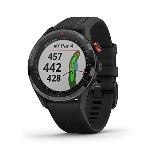 Review Garmin Approach S62, Premium Golf GPS Watch, Built-in Virtual Caddie, Mapping and Full Color ...